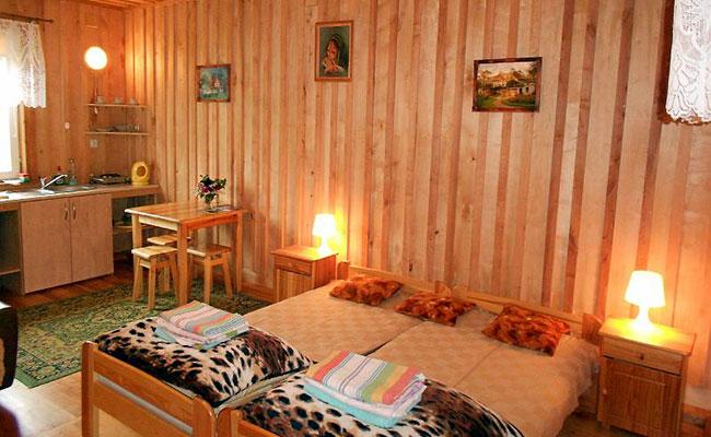 Pokój nr 5 w domku (2-3 osobowy)